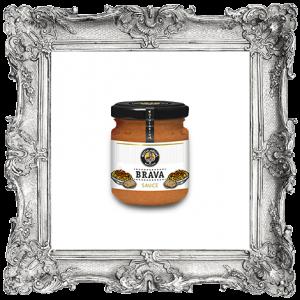 Salsa brava, color anaranjado, textura cremosa, olor y sabor a tomate con ajo con un toque picante. Fabricado en España. (400302U)