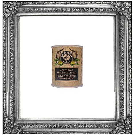 Aceitunas rellenas de ajo (Pack de 3)
