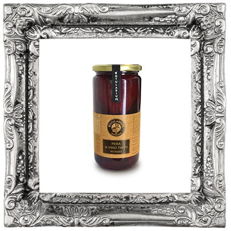Pera Vino Tinto Mitades (Cristal) (Pack de 2)