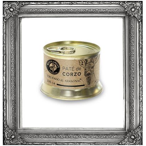 Paté de Corzo Trufado al Armagnac ~Receta Premium~ (Pack de 2)