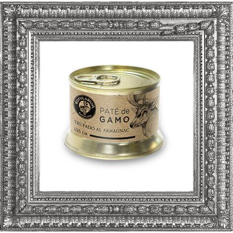 Paté de Gamo Trufado al Armagnac ~Receta Premium~ (Pack de 2)