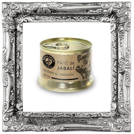 Paté de Jabalí Trufado al Armagnac ~Receta Premium~ (Pack de 2)