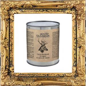 Ciervo Flambeado al Cognac en salsa de nueces (501001U)