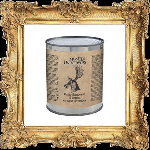 Gamo Flambeado al Cognac en salsa de nueces (503103U)