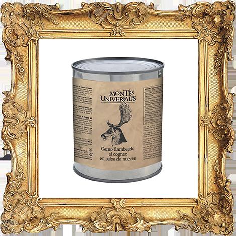 Gamo Flambeado al Cognac en salsa de nueces